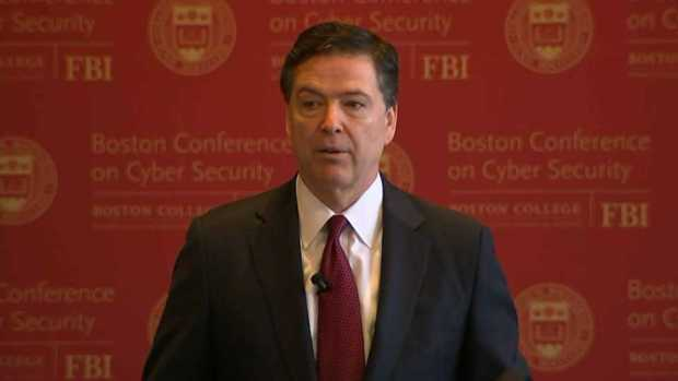 [NECN] FBI Director Comey: 'You're Stuck With Me'