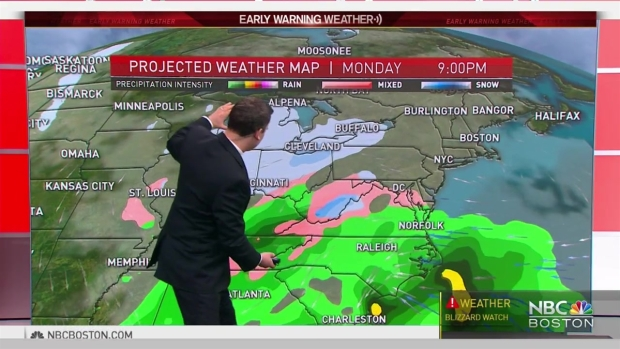 [NECN] Weather Forecast: Heavy Snow on the Way