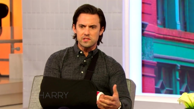 Milo Ventimiglia Talks Filming While Injured with Harry