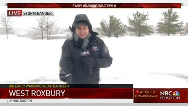 NBC Boston Storm Ranger in West Roxbury