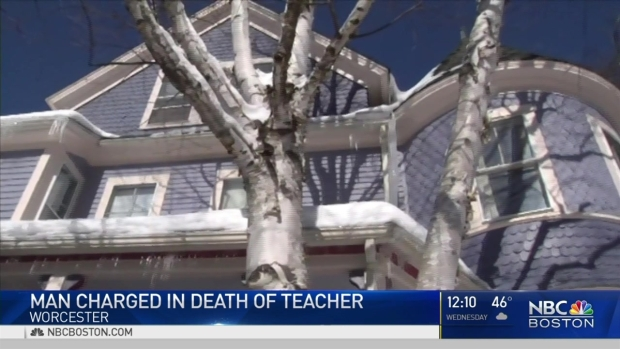[NECN]No Bail for Suspect in Teacher Aide's Murder