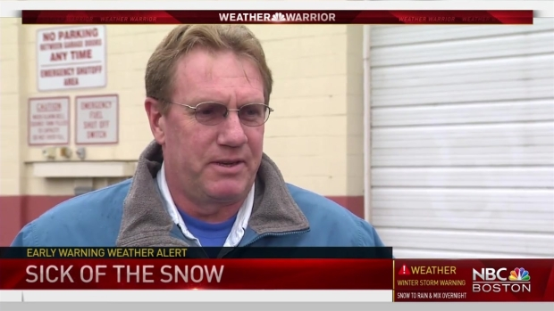 [NECN] Sick of Snow: New Englanders Say They're Ready for More Sun