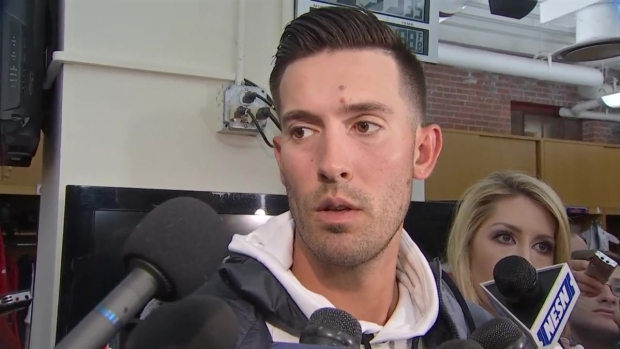 [NECN] Porcello Talks About Opening Game Win Over Pirates