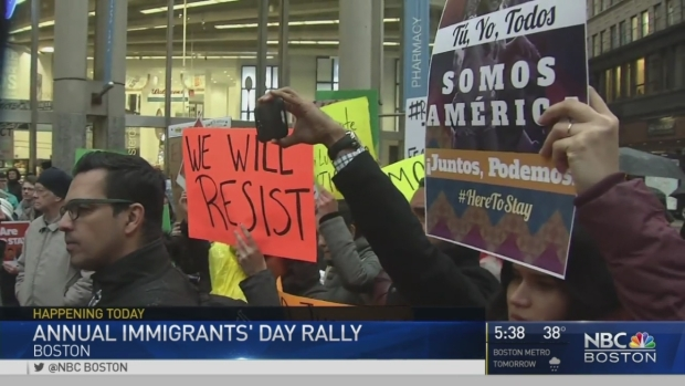 [NECN] Immigrants Day Rally to Be Held in Boston