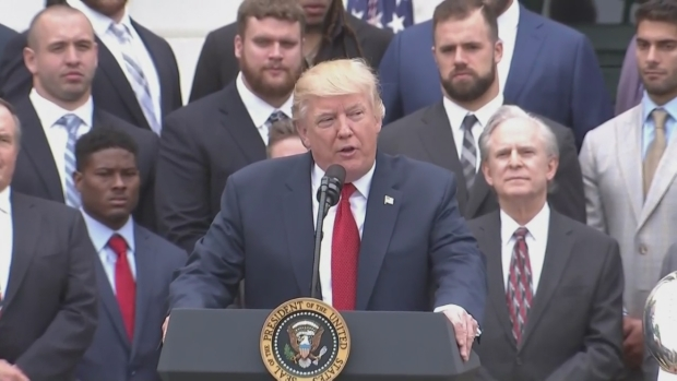 [NECN] Trump Recounts Belichick's Letter of Praise From the Campaign