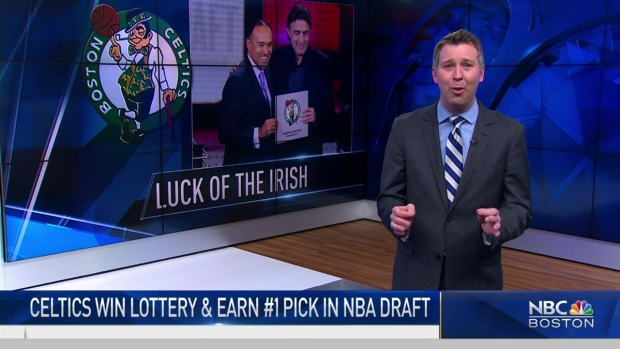 [NECN] Boston Celtics Get #1 Draft Pick