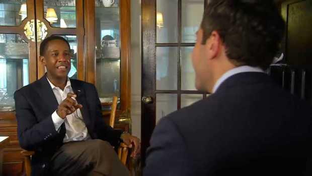 [NECN] Setti Warren Talks Potential Governor Run