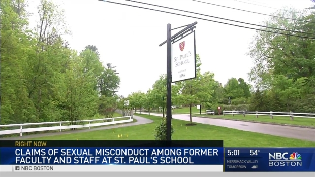 [NATL-NECN]St. Paul's School Confirms Claims of Sexual Misconduct in Report