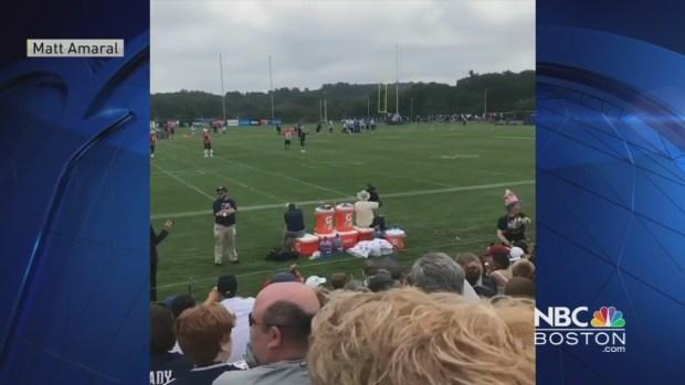 Fans, Players Sing 'Happy Birthday' to Tom Brady