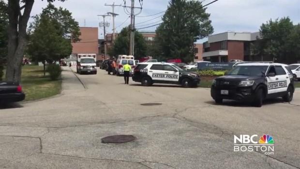 Multiple Ambulances Respond to Exeter Hospital