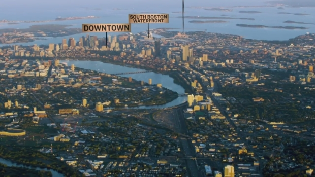 [NECN] Boston Delivers Suffolk Downs as Perfect Package in Promo Video for Amazon Headquarters