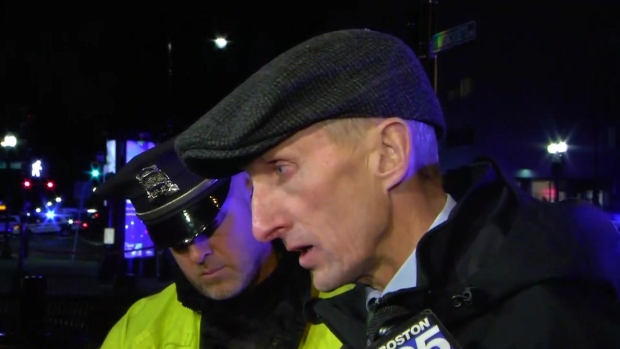 [NECN] BPD Commissioner: Shooting, Crash Thought to Be Gang-Related