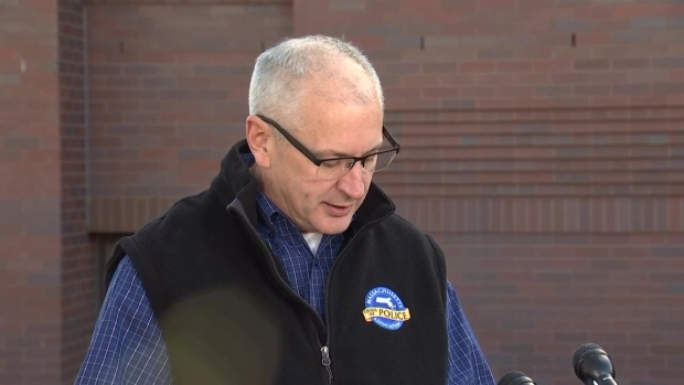 Police Chief Provides Update on Explosion Outside Home