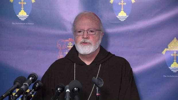 [NECN] Cardinal Sean O'Malley on the Death of Cardinal Law