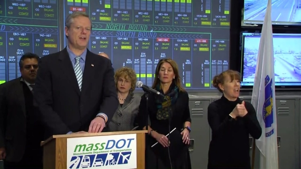 [NECN] Gov. Baker Discusses Mass. Storm Preparations