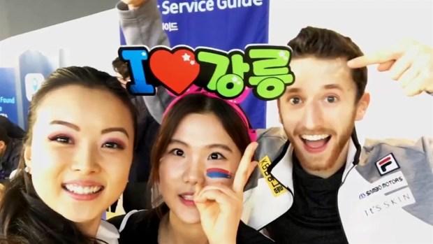 Alexander Gamelin's Olympic Journey From Boston to Korea