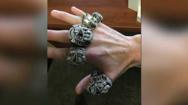 [NECN] Checking Out the Hardware: Super Bowl Rings