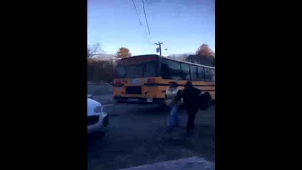 [NECN] Tyngsborough Bus Driver OUI