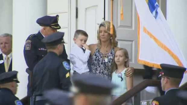 Weymouth Says Final Goodbye to Sgt. Michael Chesna