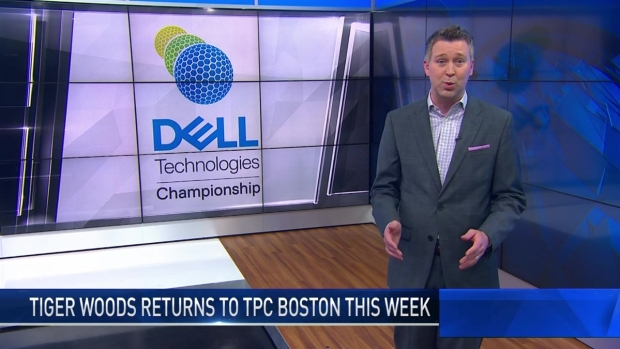 [NECN] Tiger's Chances for Winning TPC Boston