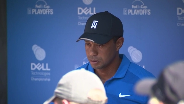 [NECN] Tiger Woods Speaks Before Dell Technologies