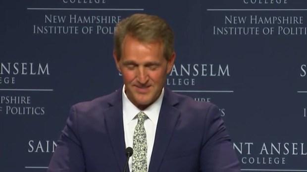 [NECN] Sen. Flake Says Tribalism in Politics Needs to End