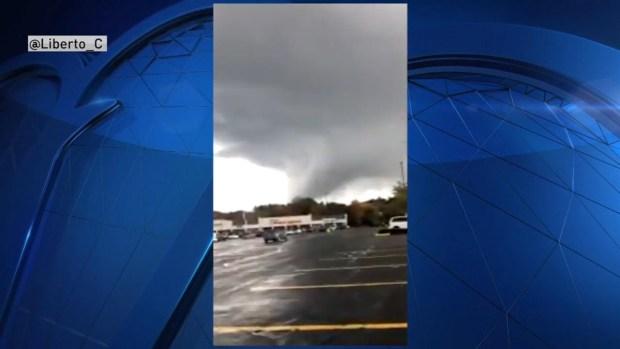 Raynham, Mass. Storm Clouds