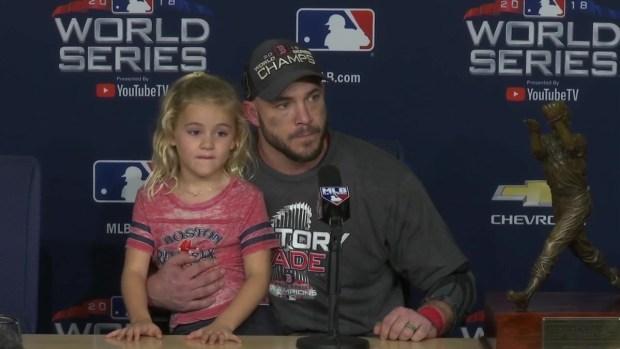 World Series MVP Steve Pearce: 'A Dream Come True'