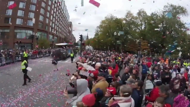 [NECN] WATCH: Time-Lapse of Red Sox Victory Parade