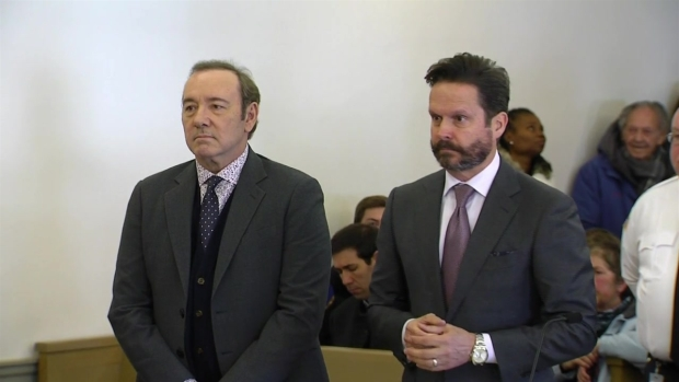 VIDEO: Watch the Full Kevin Spacey Sexual Assault Arraignment