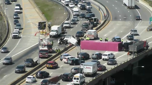 Police ID Driver in Fatal Tractor-Trailer Crash on Mass  Pike
