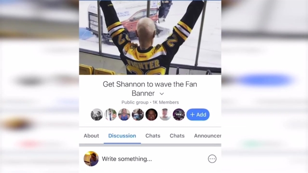 [NECN] Bruins Fan Battling Illness Hopes to Fulfill Wish During Stanley Cup