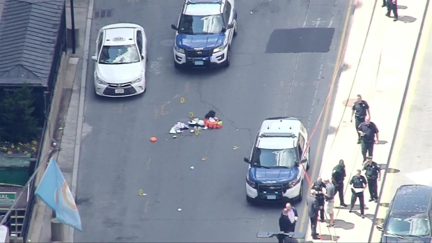 [NECN] Police Respond to Shooting Near Prudential Center