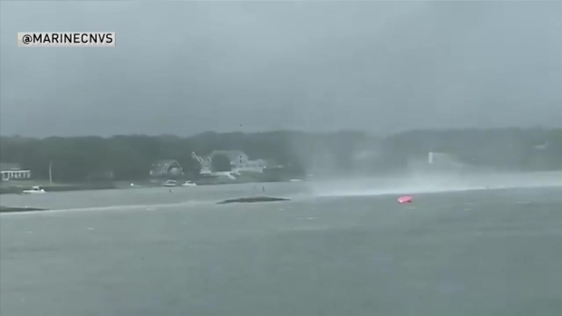[NECN] Tornado on Cape Cod Brings Waterspout, Home Damage, More