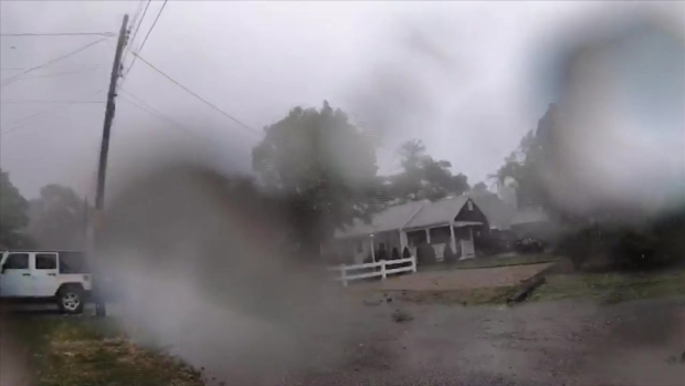 Time-Lapse Video of Tornado in Cape Cod