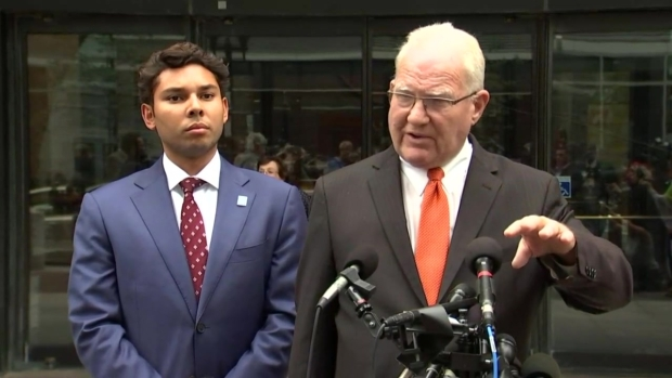 [NECN] Fall River Mayor, Attorney Speak After Arraignment