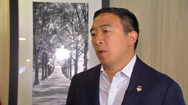 [NECN] Andrew Yang on Whether Kavanaugh Should Be Impeached