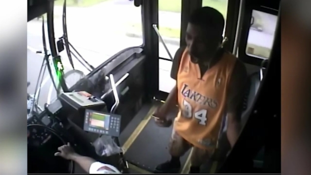 [BOS] RAW VIDEO: Bus Driver Punched Repeatedly by Angry Passenger