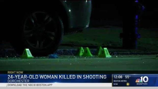 [NECN] Boston Police Search for Gunman in Dorchester