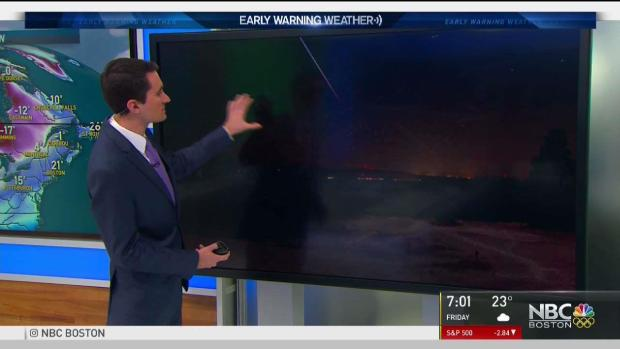 [NECN] Bright Object Lights Up Sky Across Northeast