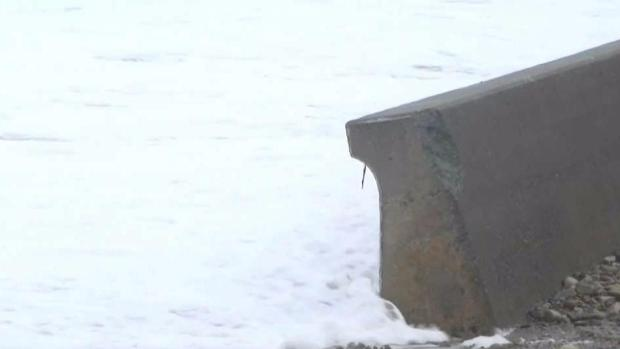 [NECN] Broken Seawall in Duxbury Puts Dozens of Homes at Risk