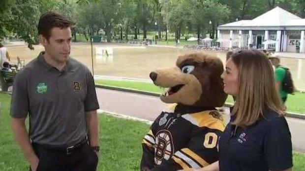 Boston Bruins Help Out the Supporting Our Schools Initiative