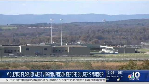 [NECN] Bulger the Latest Death at West Virginia Prison