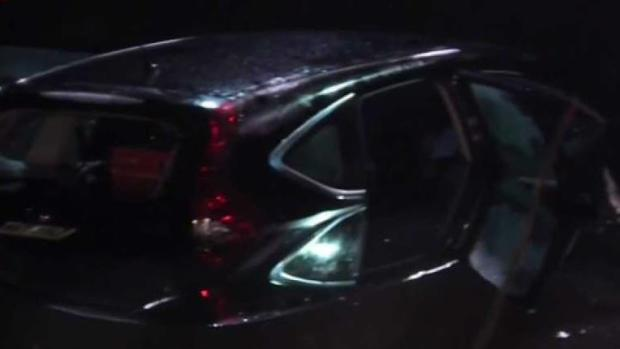 [NECN] Car Crashes Into Water in Back Bay