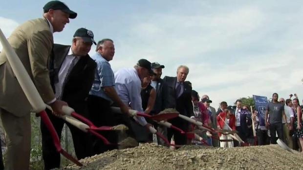 [NECN] Ceremonial Groundbreaking for Polar Park