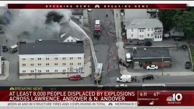 [NECN] Chaos Ensues After Merrimack Valley Gas Explosions