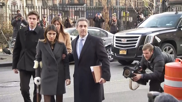 [NATL] Cohen Sentenced to 3 Years in Prison