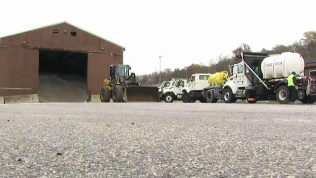[NECN] Crews Prepare for Fall Snowstorm in New England
