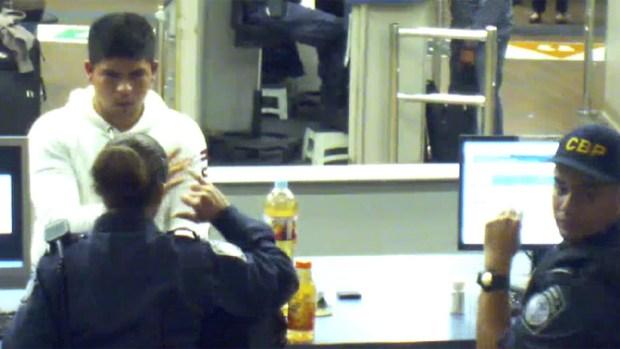 Images:Liquid Methamphetamine Teenager US Border Crossing