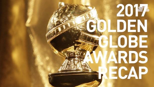 [NATL] 2017 Golden Globe Awards Winners